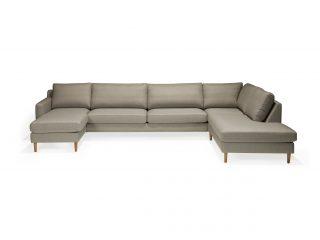 Hovden Scandinavian Touch sofa åpent hjørne m/sjeselong