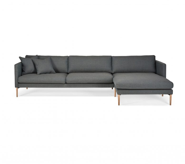 Hovden Elegante 3 seter sofa sjeselong