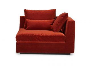 Hovden Lounge sofamodul endedel høyre liten