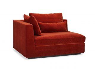 Hovden Lounge sofamodul endedel venstre liten