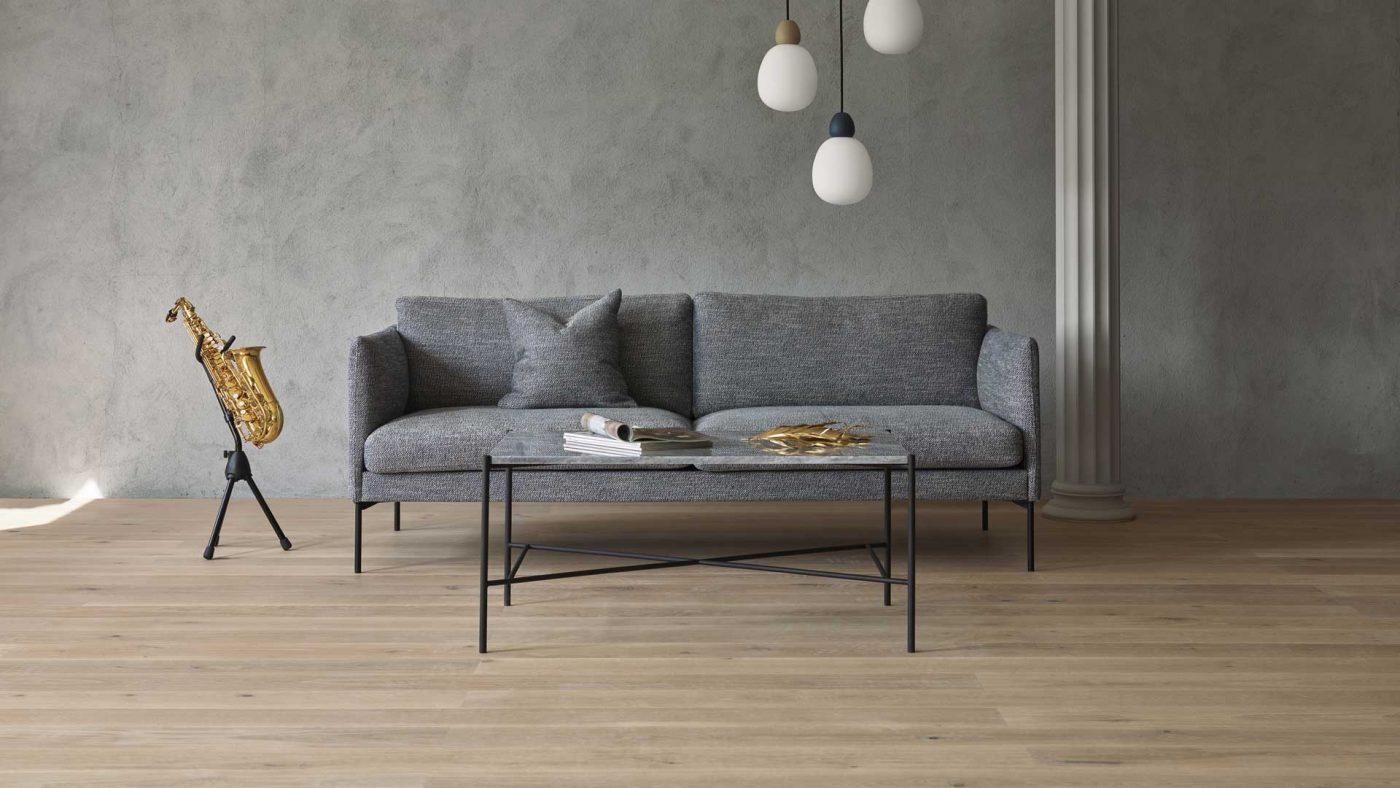 Hvordan style den grå sofaen med en ny look