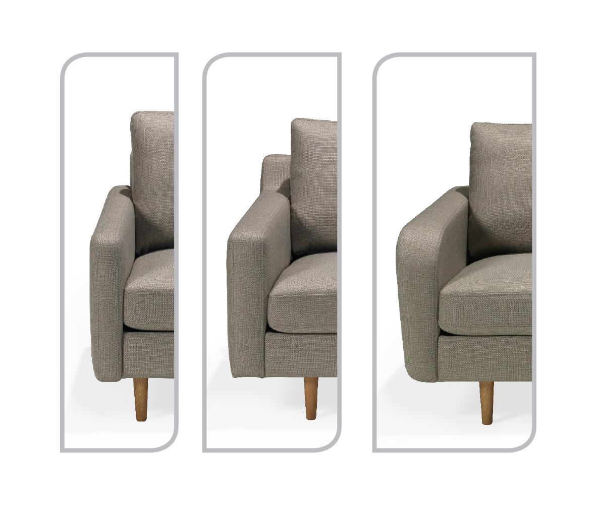 Scandinavian Touch stol med høy rygg